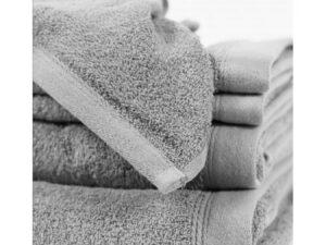 toalla suelta lisa gris