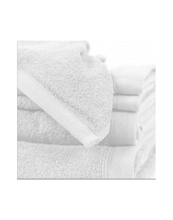 toalla suelta lisa blanco