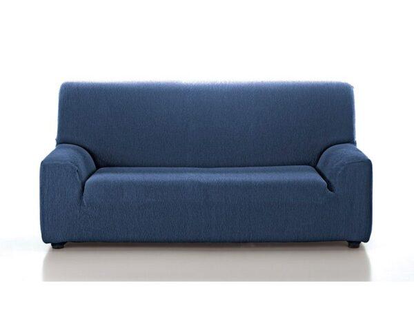 funda sofá lisa azul