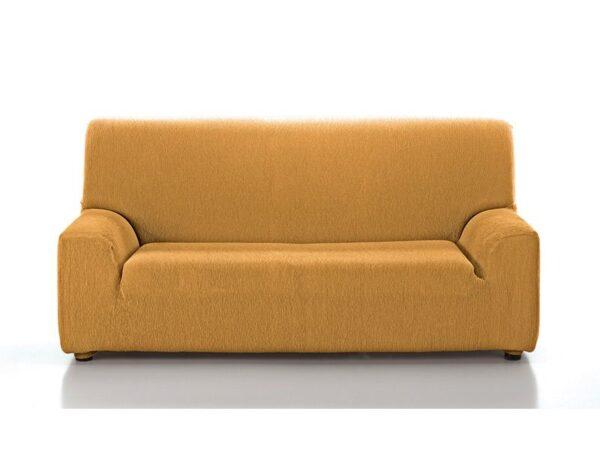 funda sofá lisa mostaza