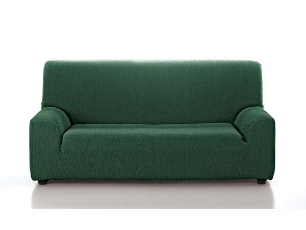 funda sofá lisa verde