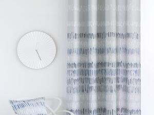 cortina azul arona