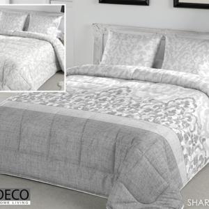 Edredón Conforter Reversible Sharon gris