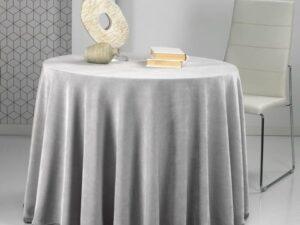 falda mesa gris