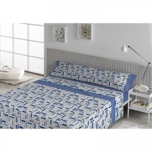 Sábanas Tela Candor Azul 90-105-135-150